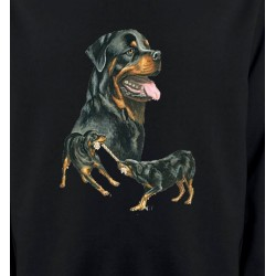 Sweatshirts Sweatshirts Unisexe Rottweiler (E)