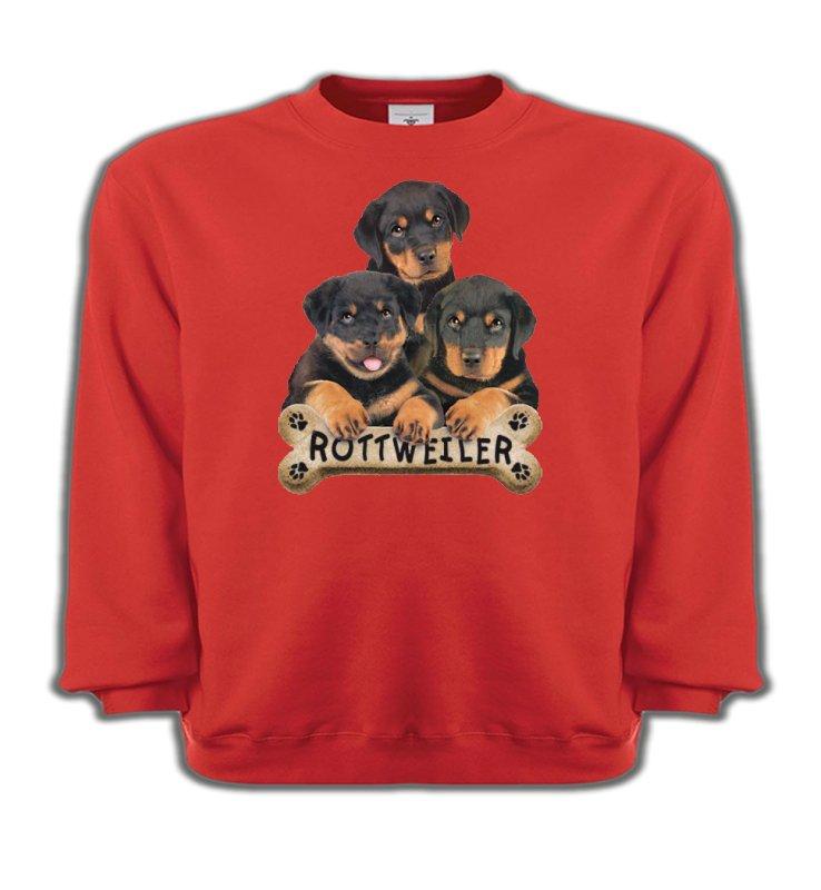 Sweatshirts EnfantsRottweilerBébés Rottweilers (R)