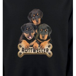 Sweatshirts Races de chiens Bébés Rottweilers (R)