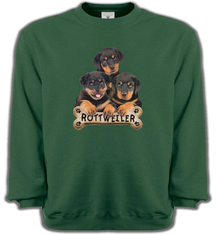 Sweatshirts UnisexeRottweilerBébés Rottweilers (R)