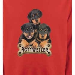 Sweatshirts Sweatshirts Unisexe Bébés Rottweilers (R)