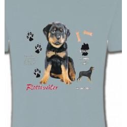 T-Shirts Races de chiens Rottweiler Chiot  (Q)