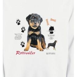 Sweatshirts Sweatshirts Unisexe Rottweiler Chiot  (Q)