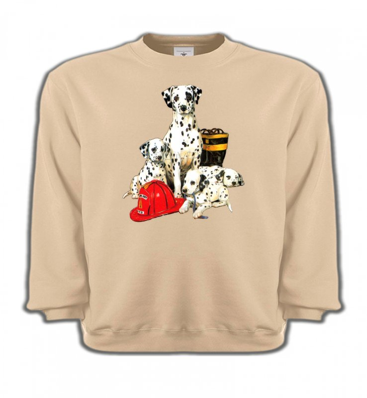 Sweatshirts EnfantsDalmatiensDalmatien Famille (F)