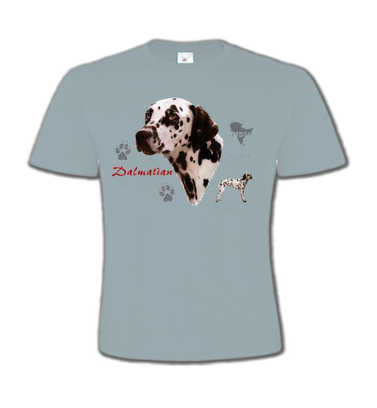 T-Shirts Col Rond EnfantsDalmatiensDalmatien (N)
