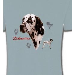 T-Shirts Races de chiens Dalmatien (N)