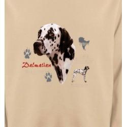 Sweatshirts Races de chiens Dalmatien (N)