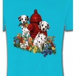 T-Shirts Races de chiens Dalmatiens chiots (A)