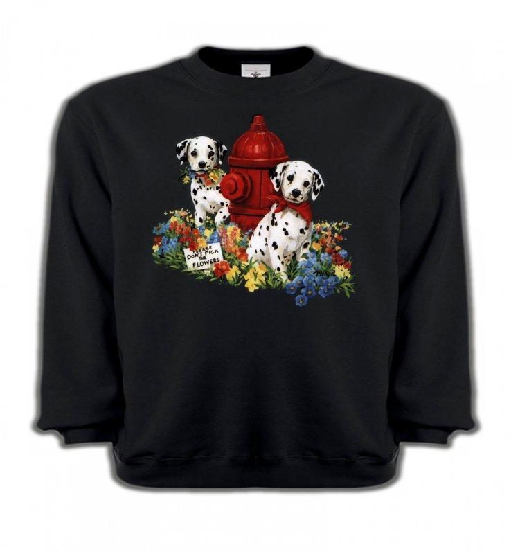 Sweatshirts EnfantsDalmatiensDalmatiens chiots (A)