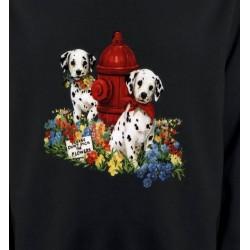 Sweatshirts Races de chiens Dalmatiens chiots (A)