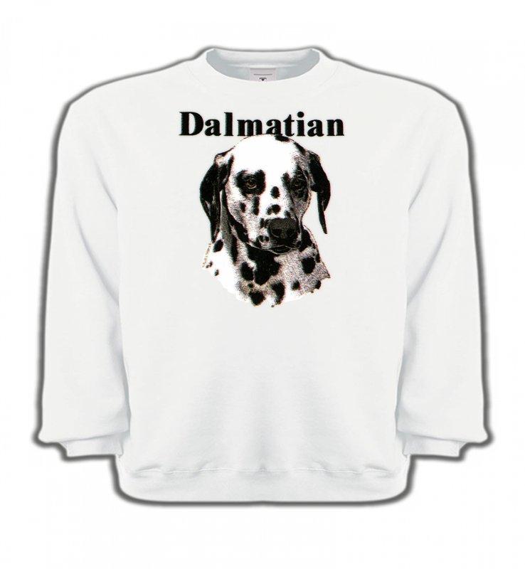 Sweatshirts EnfantsDalmatiensTête Dalmatien (H)