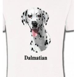 T-Shirts Races de chiens Tête Dalmatien (D)