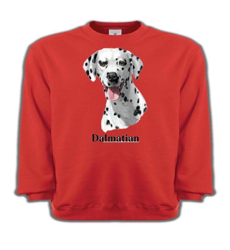 Sweatshirts EnfantsDalmatiensTête Dalmatien (D)