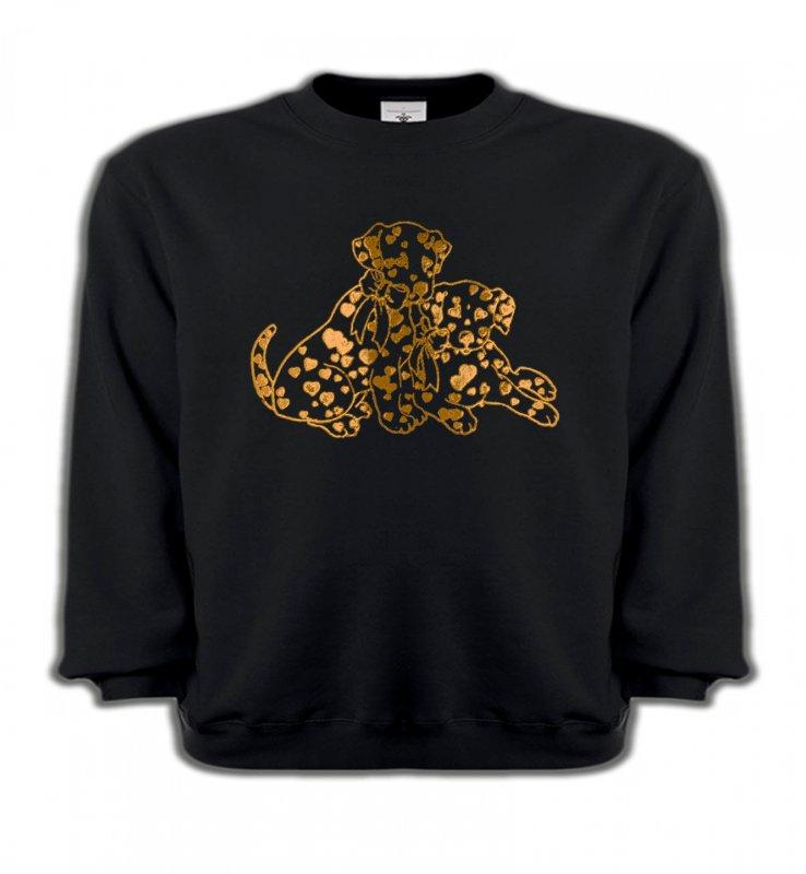 Sweatshirts EnfantsDalmatiensDalmatien Or (C)
