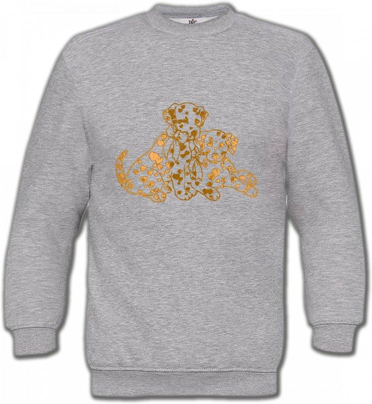Sweatshirts UnisexeDalmatiensDalmatien Or (C)