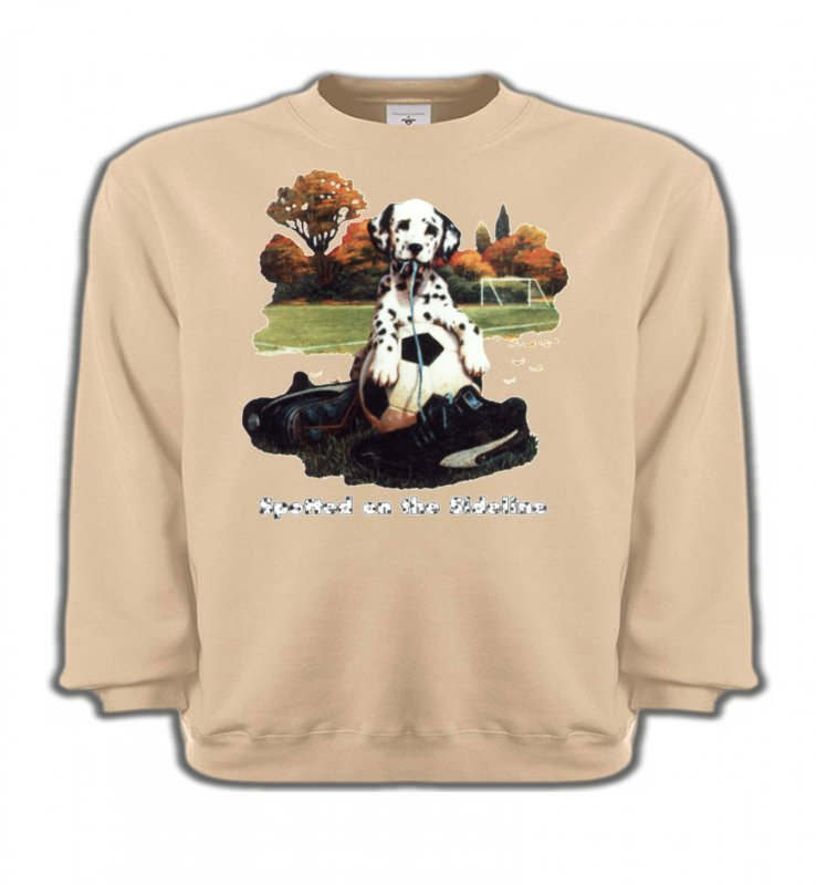 Sweatshirts Enfants Dalmatiens Dalmatien Football(M)