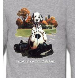 Sweatshirts Races de chiens Dalmatien Football(M)