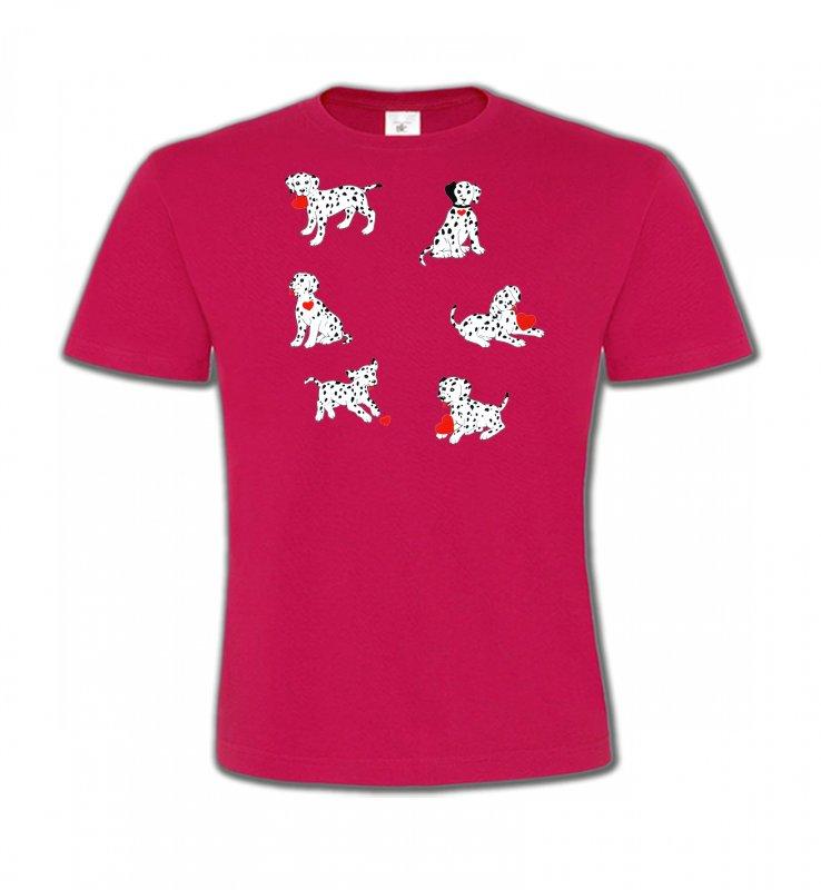 T-Shirts Col Rond EnfantsDalmatiensDalmatien (K)