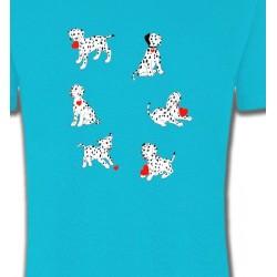 T-Shirts Races de chiens Dalmatien (K)
