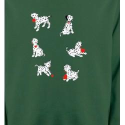 Sweatshirts Races de chiens Dalmatien (K)