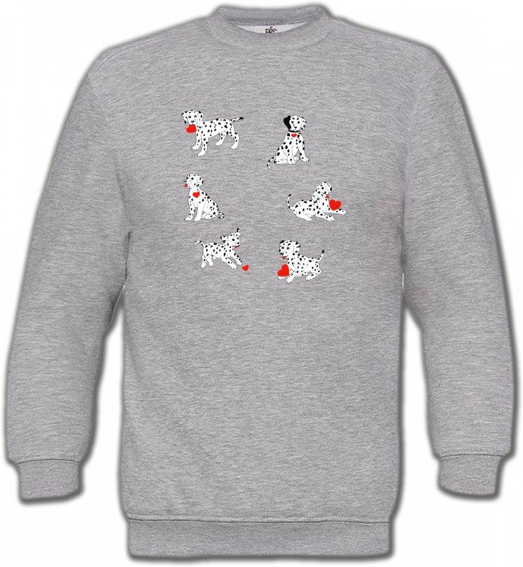 Sweatshirts UnisexeDalmatiensDalmatien (K)