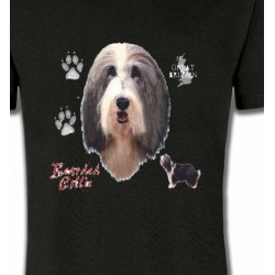 T-Shirts Races de chiens Colley Barbu (H)