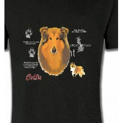 T-Shirts Races de chiens Colley (E)