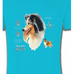 T-Shirts Races de chiens Colley (G)
