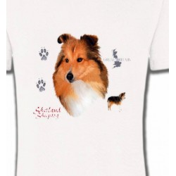 T-Shirts Races de chiens Colley (A)