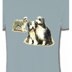 T-Shirts Races de chiens Colley Barbu (K)