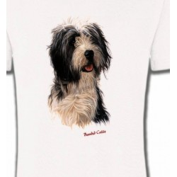 T-Shirts Races de chiens Colley Barbu (O)
