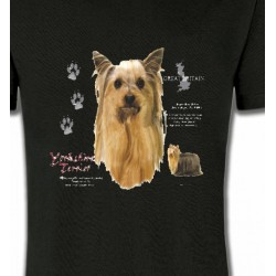 T-Shirts Races de chiens Yorkshires (D)