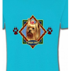 T-Shirts Races de chiens Yorkshire (C)