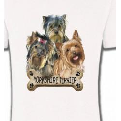 T-Shirts Yorkshires Bébés Yorkshires (G)