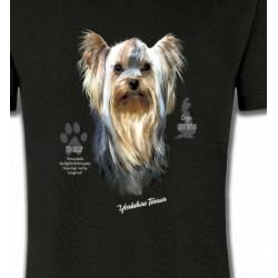T-Shirts Yorkshires Tête de Yorkshire (A)