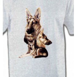 T-Shirts Berger Allemand Berger Allemand (B)