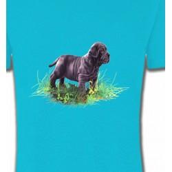 T-Shirts Sharpei Bébé Sharpei noir (D)