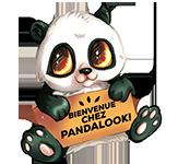 Logo Bienvenue chez Pandalook