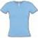 T-Shirt Col V Bleu Ciel