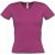 T-Shirt Col V Rouge Lipstik