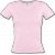 T-Shirt Col V Rose