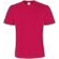 T-Shirt Col Rond Rouge Sorbet